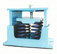 Image of Housing spring mounts G4 rated load 4410lbs 2000Kg color blue