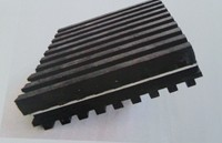 Image of Rubber Steel Rubber Pads RSR-2-4 Size 2 x 4 x 7/8 inches