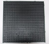 Image of Waffle Pads Load range 75 - 200 PSI Size 18 x 18 x 1/2 inches